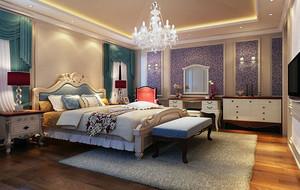 卧室精美水晶吊灯设计