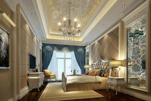 法式风格别墅型精致卧室装修效果图赏析