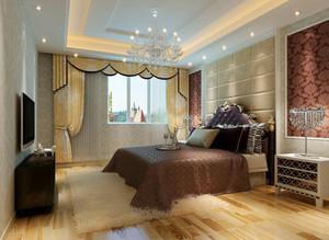 90平米大户型欧式卧室吊顶装修效果图鉴赏