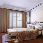 简欧风格大户型时尚精致室内卧室装修效果图