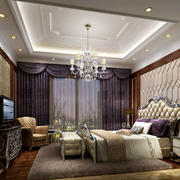 卧室唯美吊灯设计
