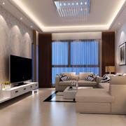 现代简约客厅整体设计