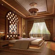 东南亚风格卧室吊顶