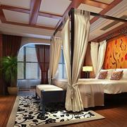 卧室精致吊顶设计