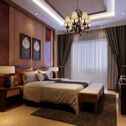 东南亚风格120平米精致卧室装修效果图赏析