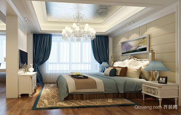 小户型欧式卧室设计装修效果图实例欣赏