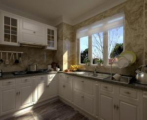 2016大户型厨房室内设计装修效果图实例