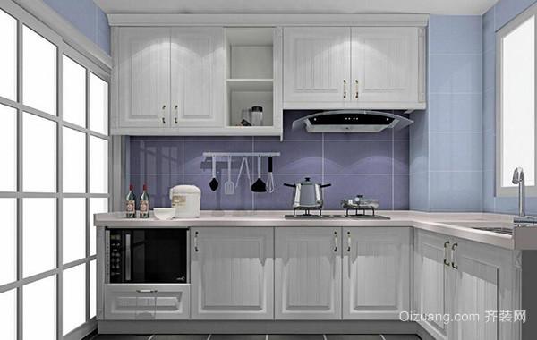 110平米大户型欧式厨房室内设计装修效果图