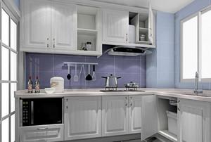 2016别墅简欧风格厨房橱柜装修效果图欣赏