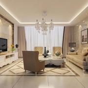 2016精美大户型客厅室内设计装修效果图