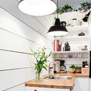 北欧风格自然舒适小户型厨房装修效果图