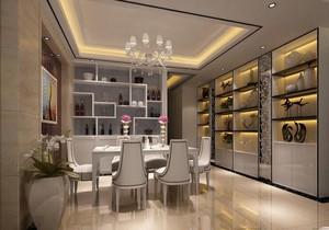 2016简欧风格小户型餐厅设计装修效果图