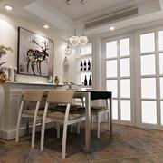 2016欧式小户型餐厅室内装修效果图欣赏