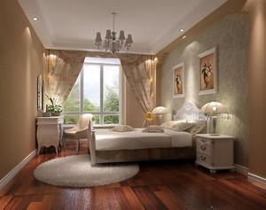 现代田园风格自然舒适卧室装修效果图大全