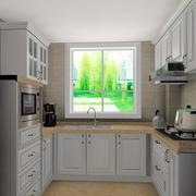 100平米欧式厨房设计装修效果图实例