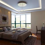 卧室精致吊顶装修效果图