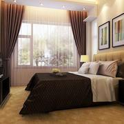 卧室精致窗帘设计
