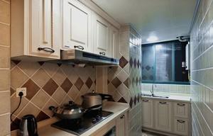 2016大户型精致的现代厨房吊顶装修效果图
