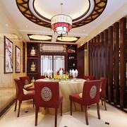 餐厅精致吊顶设计