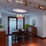 中式风格餐厅效果图