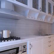 2016别墅型欧式开放式厨房装修效果图鉴赏