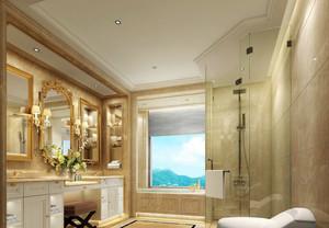 欧式风格精致别墅室内卫生间吊顶装修效果图赏析