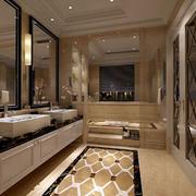 欧式豪华卫生间吊顶设计