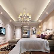 简欧风格精致典雅室内卧室装修效果图