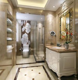 欧式风格别墅精致室内卫生间装修效果图赏析