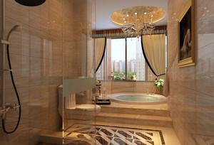 2016年豪华欧式别墅精致卫生间装修效果图