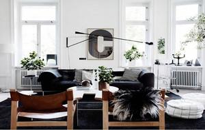 100平米北欧风格简约时尚创意客厅装修效果图赏析