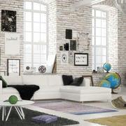 时尚简约创意客厅设计