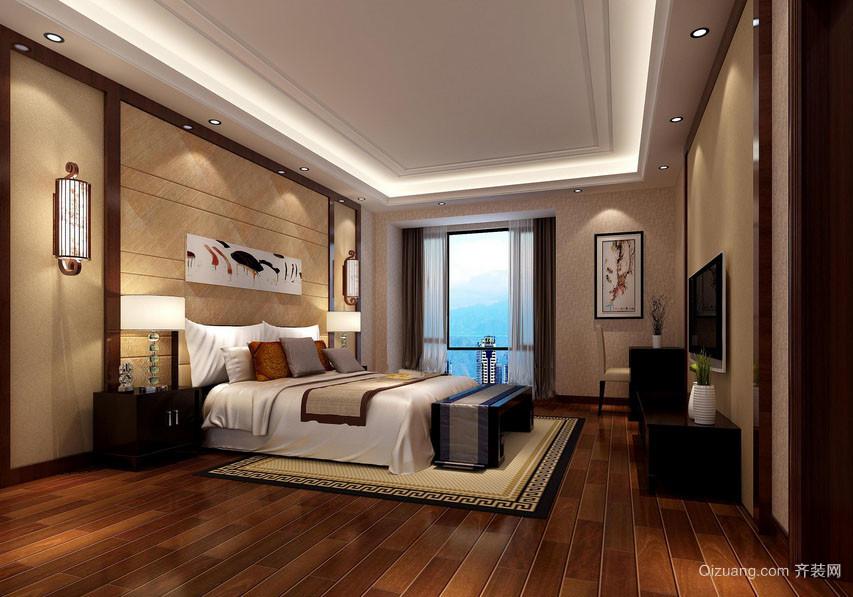 100平米东南亚风格朴素室内卧室装修效果图