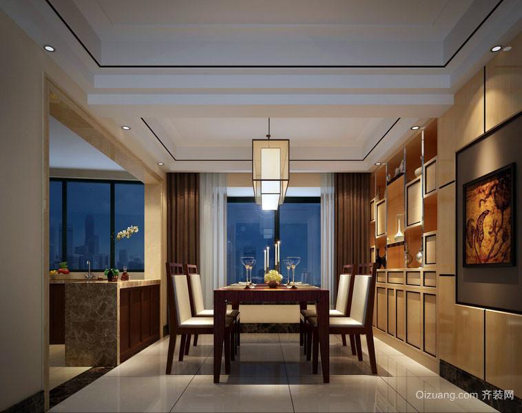 都市风格大户型朴素简约餐厅装修效果图