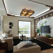 现代中式风格吊顶设计