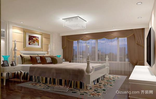 小户型欧式风格卧室吊顶装修效果图实例
