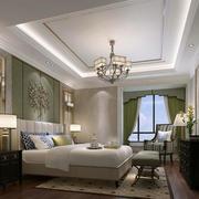 温馨美式卧室效果图