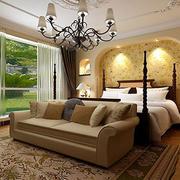 温馨卧室效果图