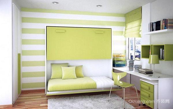 现代简约风格缤纷色彩儿童房装修效果图赏析