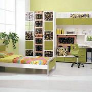 绿色动感儿童房装修
