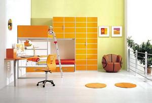 10平米轻快活力时尚简约儿童房装修效果图