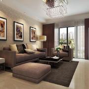现代风格客厅沙发照片墙