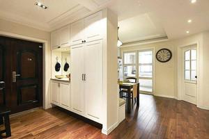大户型经典美式风格精致室内玄关装修效果图