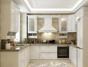100平米欧式厨房室内设计装修效果图欣赏