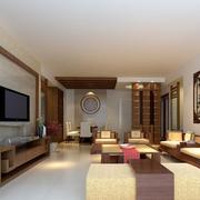 2016精致的别墅型客厅装修效果图鉴赏