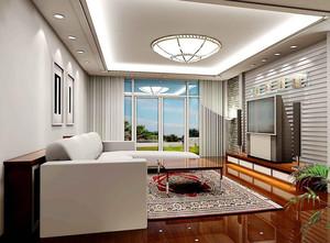 100平米欧式大户型客厅吊顶装修效果图鉴赏