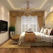 2016年新款简欧风格精致大气卧室装修效果图