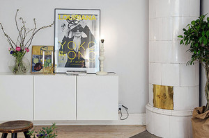 都市小清新简约时尚创意小公寓装修效果图