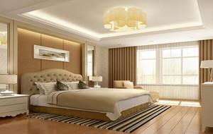 精致的别墅型卧室背景墙装修效果图鉴赏