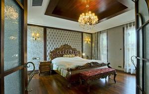 美式风格卧室背景墙装修